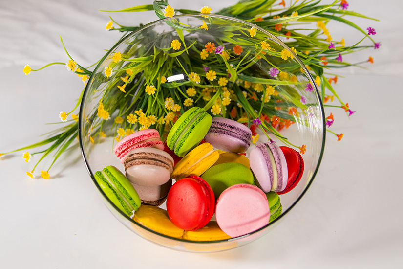 Marron  colorful Cakes