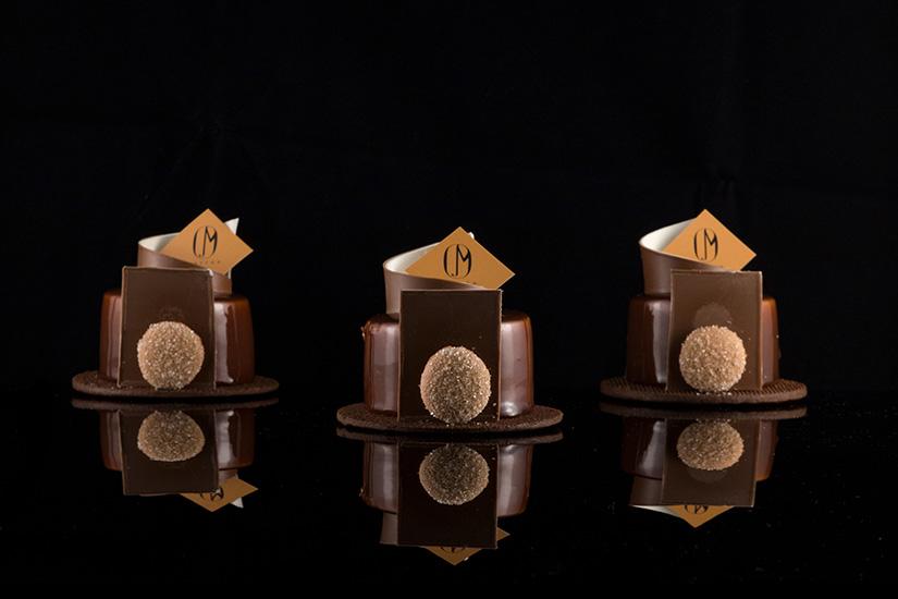 Marron Chocolate cakes
