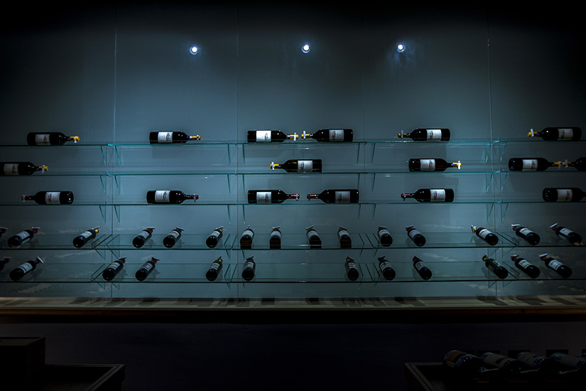 Reserve wine store basement