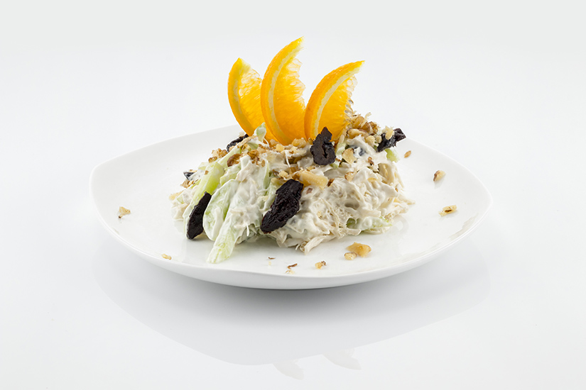 chicken  Salad with olives