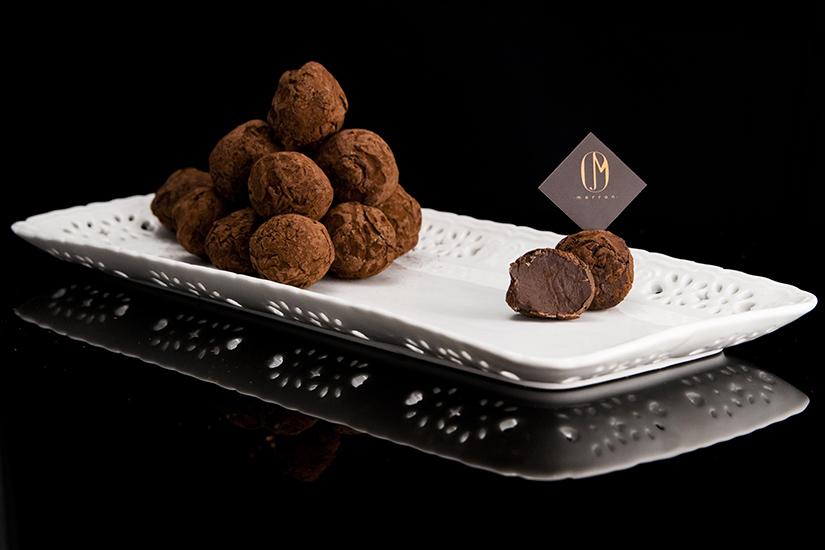 Marron truffles