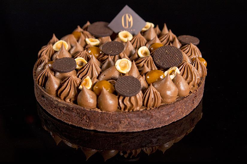 Marron Chocolate cake