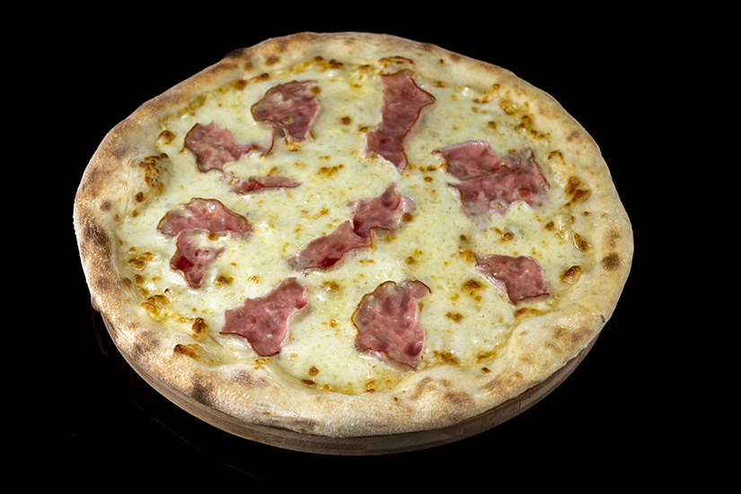 Pizza Bacon and mozzarella
