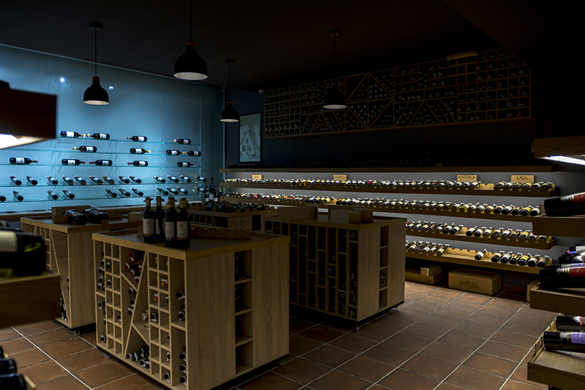 Reserve wine store main hall