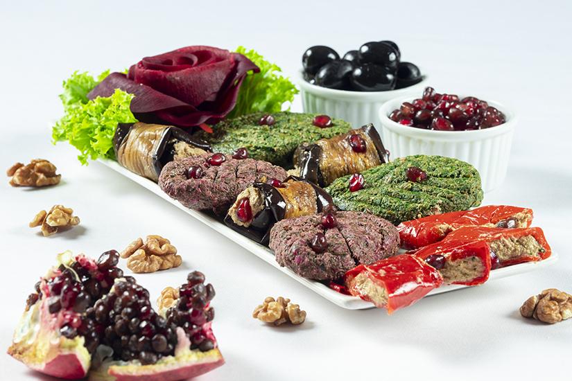 Walnuts Salads Assorti