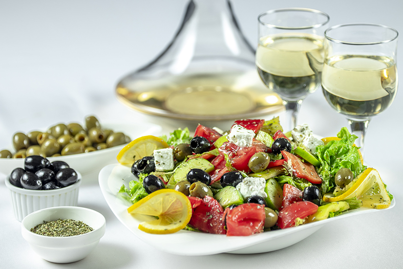 Tomato And Cucumber Greek Salad