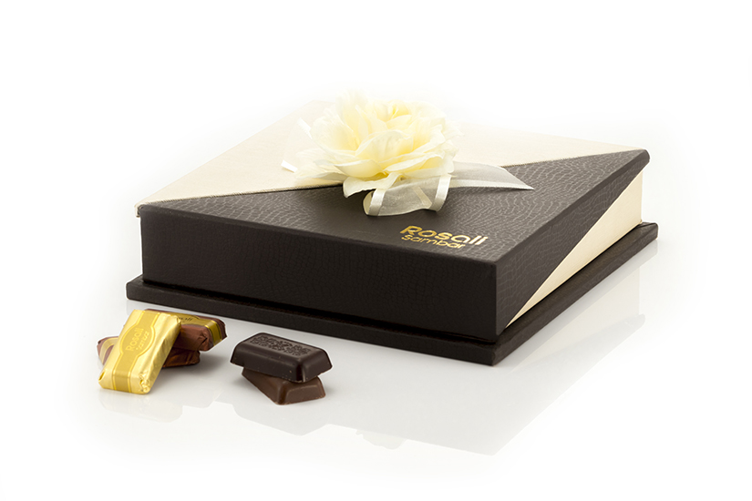 Chocolate brown box