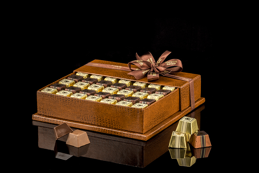 Rosali Brown Boxed chocolate