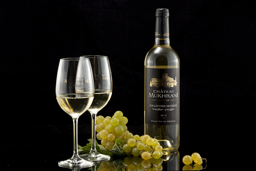Chateau Mukhrani white wine