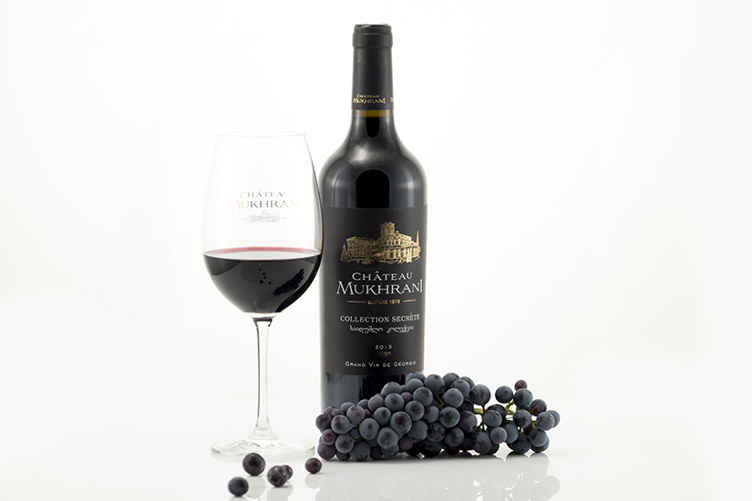 Chateau Mukhrani red wine