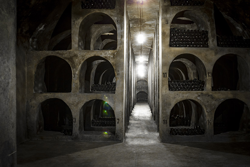 The Old Wine preservation Tunnel